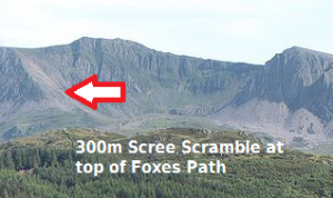 Foxes Path Scree Slope